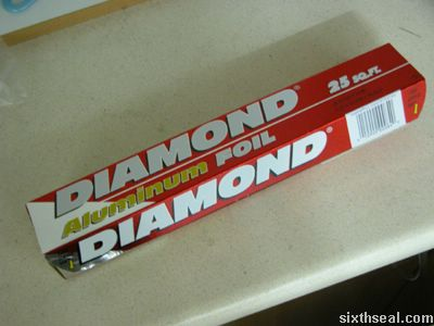 diamond alum foil