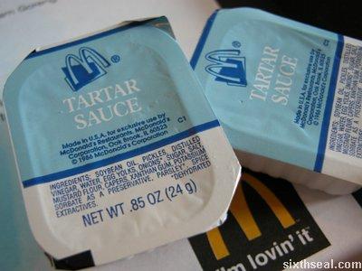 mcd tartar sauce