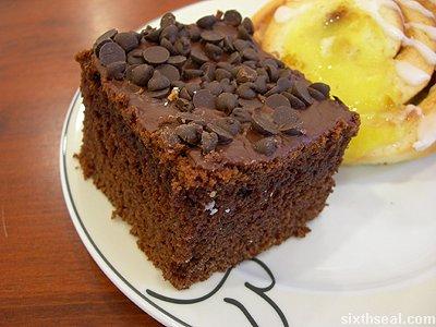 bakery free choc cake