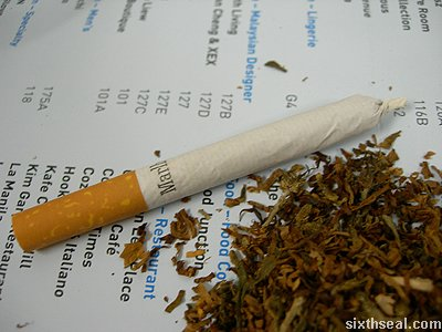 cannabis cigarette