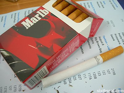 Quanto costano le Marlboro light a Madrid