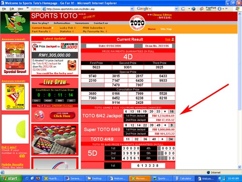 I won the Sports Toto 6/42 Jackpot! » sixthseal.