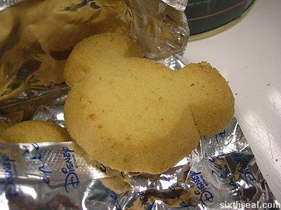 disney cookies butter