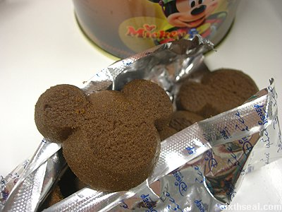 disney cookies chocolate