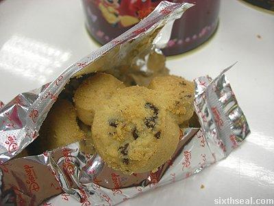 disney cookies chocolate chip