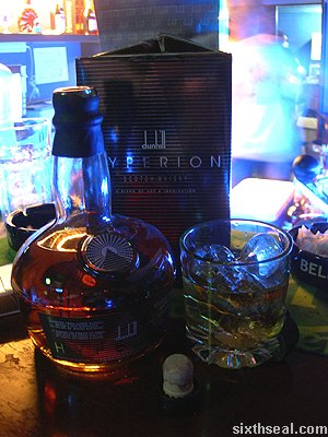 dunhill hyperion drink