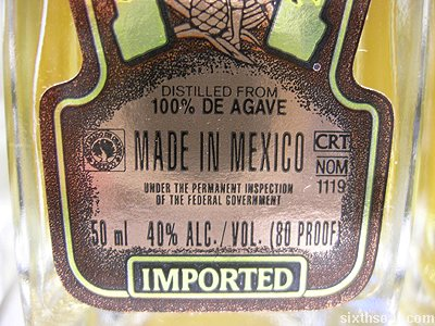 herradura tequila agave