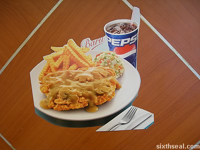 kfc chicken chop promo
