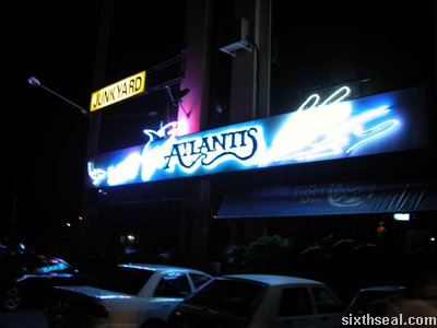 This is Atlantis in Kuching. Atlantis is located below Junkyard.