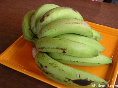 bing banana decor
