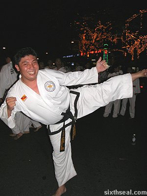 black belt guy