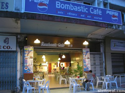 bombastic cafe