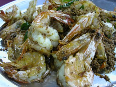 buntal butter prawns