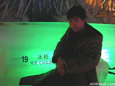 ice chairs