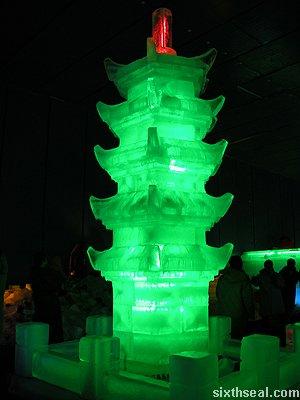 ice liuhe pagoda