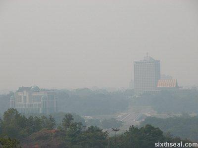 kuching haze
