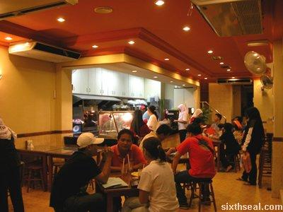 oriental noodle interior