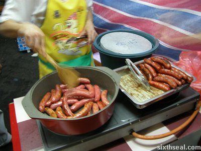taiwan sausages