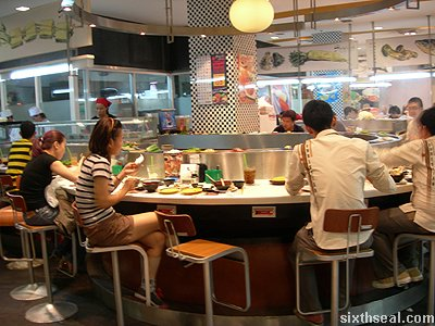 oishii sushi bedømmelse