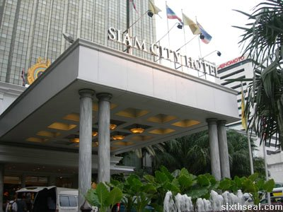 siam city hotel bangkok
