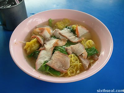 street food noodle