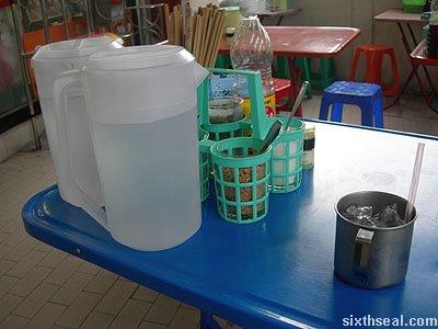 street food water