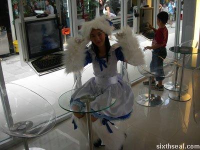 toyota cosplay girl