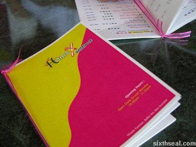 homex menu