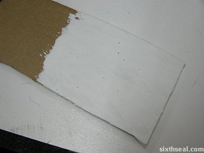 no burn cardboard