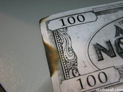 no burn paper