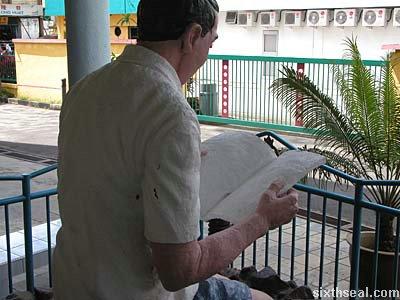 reading blank slate