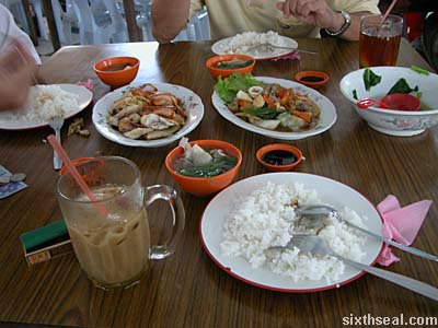 sri aman food