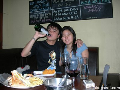 cherie xmas drinking