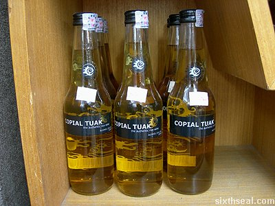 copial tuak shelves