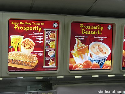 prosperity burger chicken menu