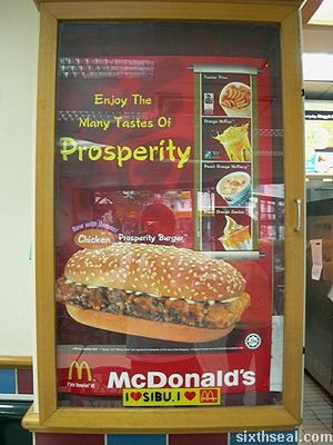 prosperity burger chicken stand