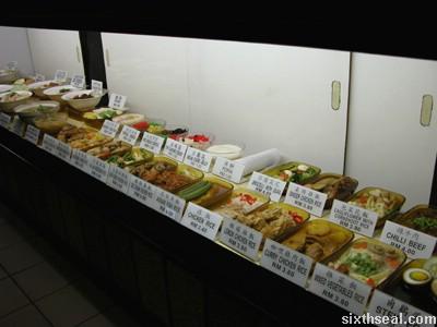 all joy food display