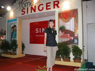 singer fashion show
