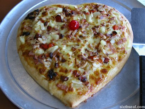 sweetheart pizza