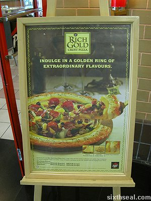 ph rich gold crust pizza promo