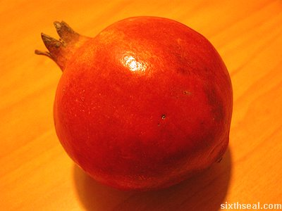 promegranate fruit