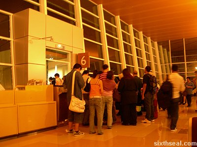 business class boarding