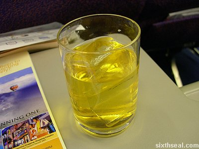 business class juice