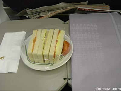 business class napkins