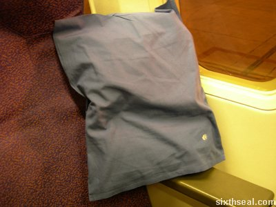 business class pillow