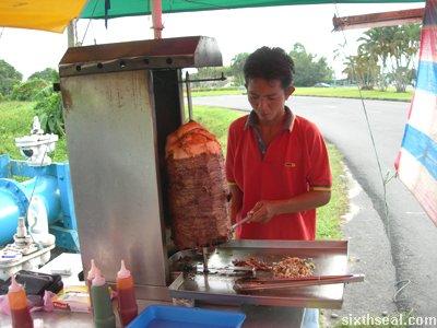 ferry kebab prep