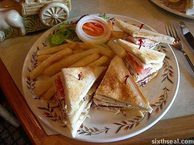 rejang lobby club sandwich