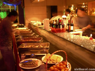riviera lounge buffet