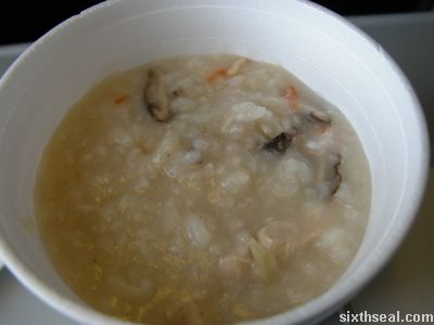 air asia chicken congee