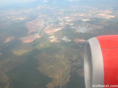 flight over kl